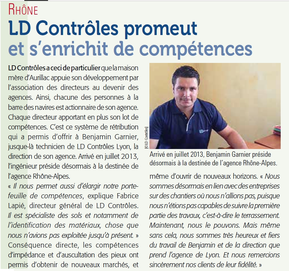ARTICLE LD LYON