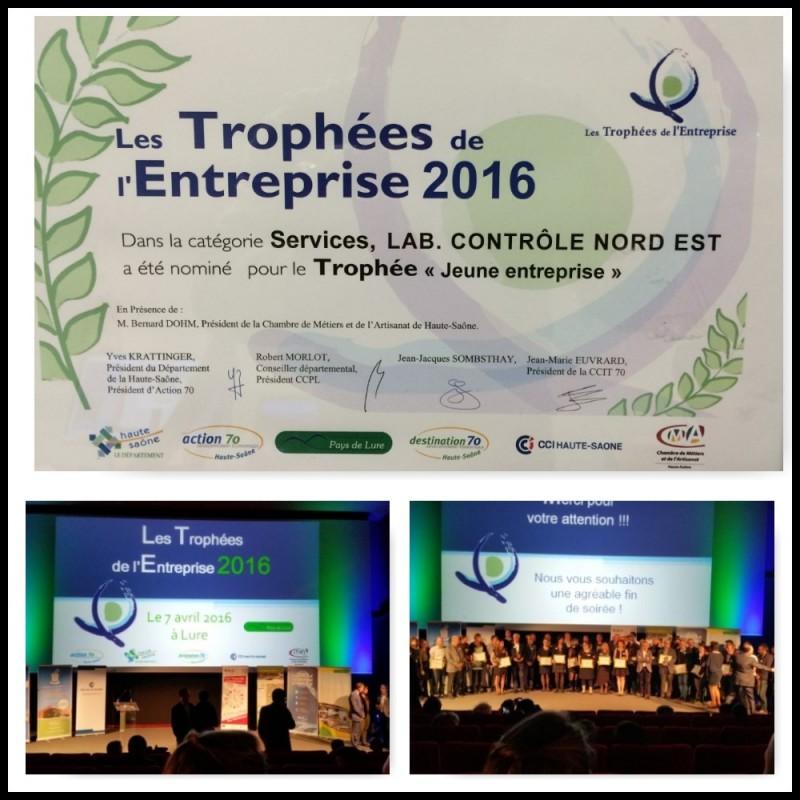 Trophées de l'Entreprise 2016