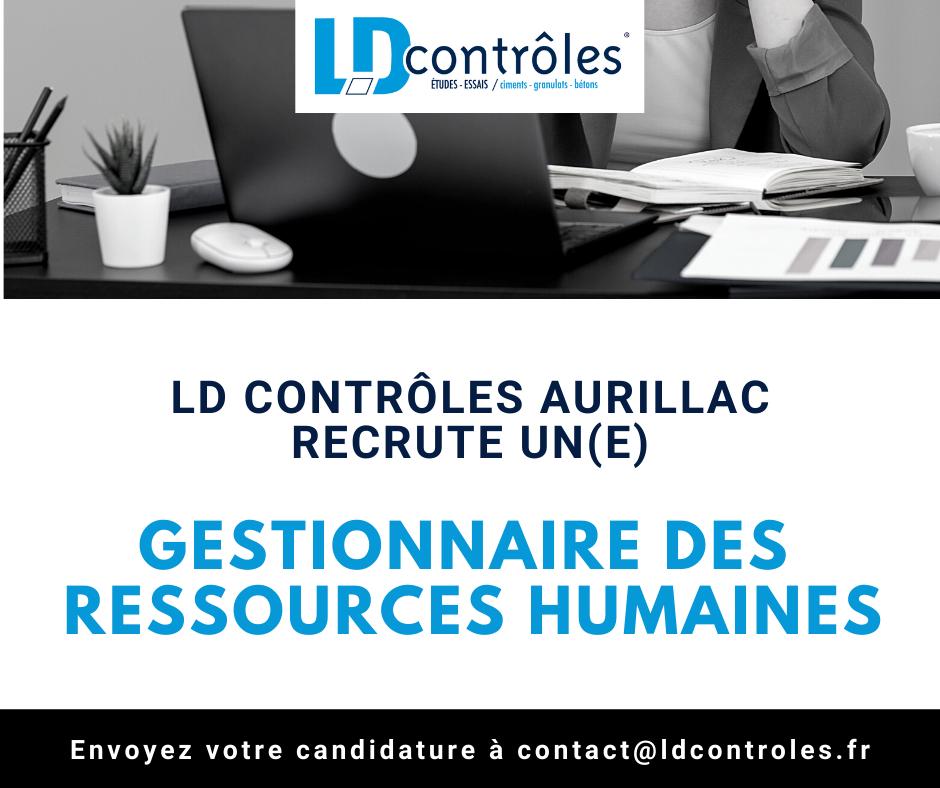Gestionnaire des ressources humaines à Aurillac