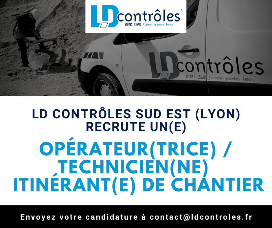 Opérateur(trice) Technicien(ne) itinérant(e) de chantier à Lyon