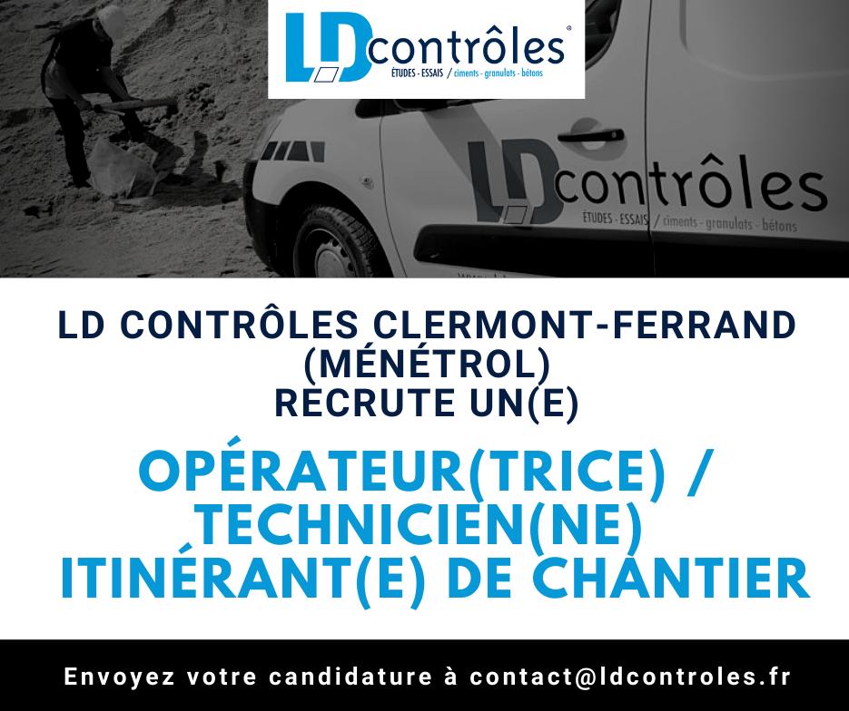 Photo illustration offre emploi LD Contrôles Ménétrol